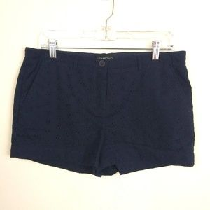 Cynthia Rowley Embroidered Shorts | sz 10